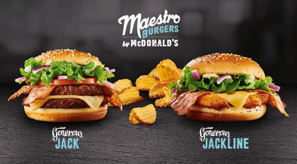 Új Maestro burgerek!