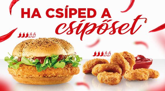 Új Spicy McChicken® és Chicken McNuggets®!