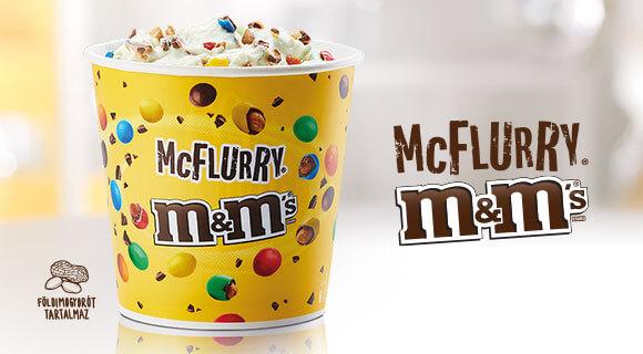 McFlurry® M&M's® - a megunhatatlan klasszikus
