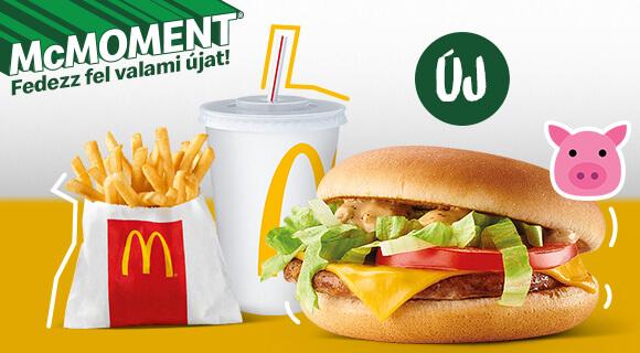 Új Sertésburger Fresh a McMoment® családban!
