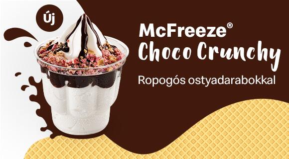 Új McFreeze® Choco Crunchy