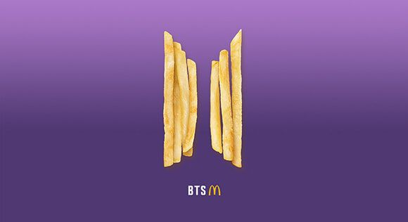 BTS Menü csak a McDonald's-ban!