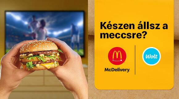 Ingyen kiszállítás a foci meccsek alatt!