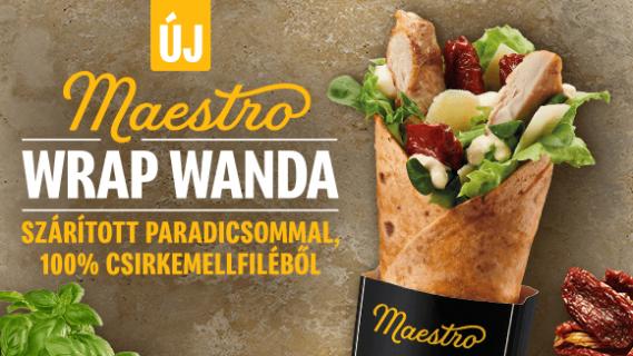 Maestro Wrap Wanda téged is vár a Mekiben!
